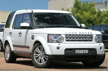 2012 Land Rover Discovery 4 MY12 3.0 SDV6 SE White 6 Speed Automatic Wagon Petersham Marrickville Area Preview