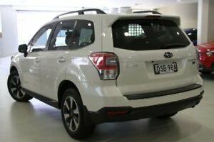 2017 Subaru Forester S4 MY18 2.0D-L CVT AWD Crystal White 7 Speed Constant Variable Wagon