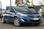 2014 Hyundai Elantra MD3 Trophy Blue 6 Speed Sports Automatic Sedan Condell Park Bankstown Area Preview