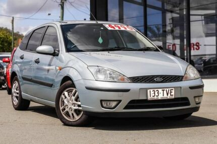 2003 Ford Focus LR MY2003 CL Green 4 Speed Automatic Hatchback Mount Gravatt Brisbane South East Preview