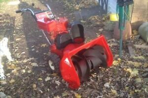 """7 HP 24"""" Toro SnowBlower For sale has chains on tires"""