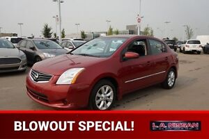 2012 Nissan Sentra SL Leather,  Heated Seats,  Bluetooth,  A/C,