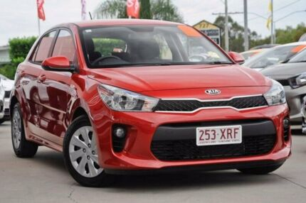 2017 Kia Rio YB MY17 S Red 4 Speed Sports Automatic Hatchback