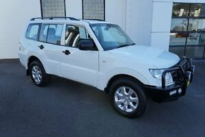 2014 Mitsubishi Pajero NW MY14 GLX LWB (4x4) White 5 Speed Auto Sports Mode Wagon