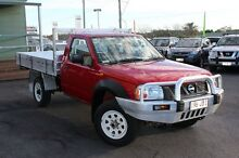 2005 Nissan Navara D22 MY2003 DX Red 5 Speed Manual Cab Chassis Tingalpa Brisbane South East Preview