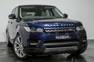 2015 Land Rover Range Rover Sport L494 15.5MY TdV6 CommandShift SE Blue 8 Speed Sports Automatic