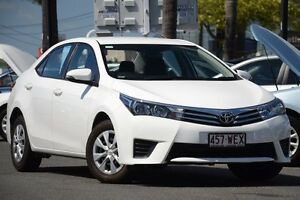 2014 Toyota Corolla ZRE172R Ascent S-CVT White 7 Speed Constant Variable Sedan Macgregor Brisbane South West Preview