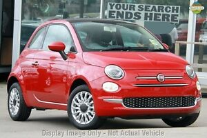2016 Fiat 500 Series 4 Lounge Dualogic Pasodoble Red 5 Speed Sports Automatic Single Clutch Zetland Inner Sydney Preview
