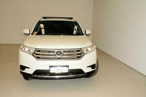 2012 Toyota Kluger GSU45R MY12 KX-R AWD White 5 Speed Sports Automatic Wagon Edgewater Joondalup Area Preview