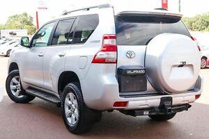 2014 Toyota Landcruiser Prado KDJ150R MY14 GXL Silver 5 Speed Sports Automatic Wagon Wangara Wanneroo Area Preview