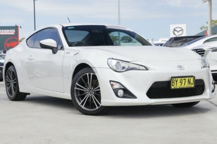 2012 Toyota 86 ZN6 GTS White 6 Speed Manual Coupe Gymea Sutherland Area Preview