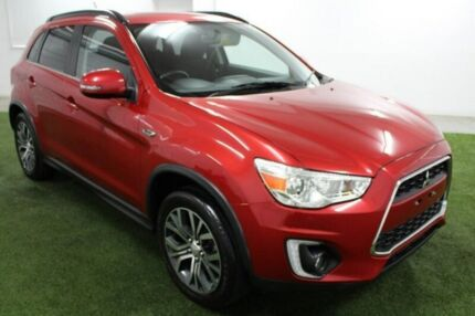 2016 Mitsubishi ASX XB MY15.5 LS 2WD Red 6 Speed Constant Variable Wagon Moonah Glenorchy Area Preview