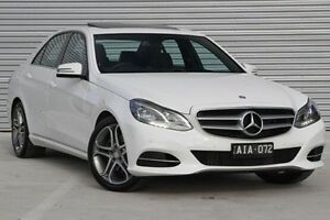 2015 Mercedes-Benz E200 White Sports Automatic Sedan Ringwood East Maroondah Area Preview
