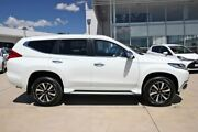 2017 Mitsubishi Pajero Sport QE MY17 Exceed White 8 Speed Sports Automatic Wagon Castle Hill The Hills District Preview