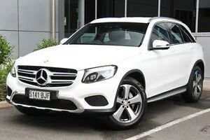 2015 Mercedes-Benz GLC220 X253 d 9G-TRONIC 4MATIC White 9 Speed Sports Automatic Wagon Hilton West Torrens Area Preview
