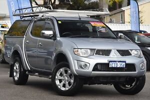 2015 Mitsubishi Triton MN MY15 GLX-R Double Cab Silver 5 Speed Sports Automatic Utility Maylands Bayswater Area Preview