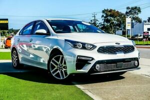2019 Kia Cerato BD MY19 Sport Safety Pack Clear White 6 Speed Automatic Sedan Wangara Wanneroo Area Preview