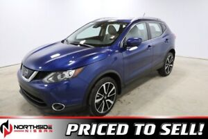 2018 Nissan Qashqai AWD SL CVT BLUETOOTH, BACK UP CAMERA, NAVIGA