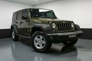 2015 Jeep Wrangler JK MY2016 Unlimited Sport Green 5 Speed Automatic Softtop