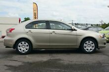 2009 Mitsubishi Lancer CJ MY09 ES Sportback Gold 6 Speed Constant Variable Hatchback Wilston Brisbane North West Preview