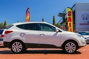 2012 Hyundai ix35 LM MY12 Highlander AWD White 6 Speed Sports Automatic Wagon Myaree Melville Area Preview
