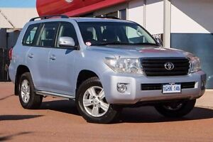 2012 Toyota Landcruiser VDJ200R MY12 Altitude Silver & Chrome 6 Speed Sports Automatic Wagon Glendalough Stirling Area Preview