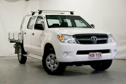 2008 Toyota Hilux White Manual Utility Wynnum Brisbane South East Preview
