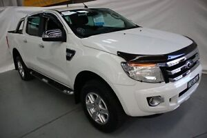 2014 Ford Ranger PX XLT Super Cab 4x2 Hi-Rider White 6 Speed Sports Automatic Utility Maryville Newcastle Area Preview