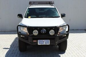 2014 Toyota Landcruiser Prado KDJ150R MY14 GX White 5 Speed Sports Automatic Wagon Embleton Bayswater Area Preview