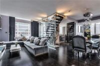 Furnished 2 Storey Luxury Condo in Yorkville