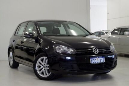2012 Volkswagen Golf VI MY12.5 103TDI DSG Comfortline Black 6 Speed Sports Automatic Dual Clutch Myaree Melville Area Preview