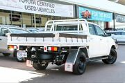 2015 Toyota Hilux GUN136R SR Double Cab 4x2 Hi-Rider Glacier White 6 Speed Sports Automatic Utility Wangara Wanneroo Area Preview