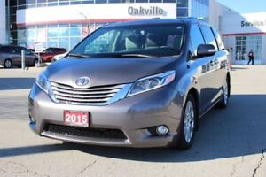 2015 Toyota Sienna Limited w/Navigaion, Leather & Backup Camera