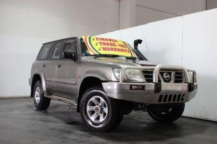 2004 Nissan Patrol GU III ST-L (4x4) Gold 5 Speed Manual Wagon