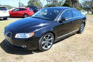 2010 Volvo S80 A Series MY10 T6 Geartronic AWD Black 6 Speed Sports Automatic Sedan Burnie Area Preview