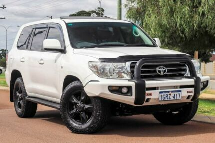 2011 Toyota Landcruiser VDJ200R MY10 VX White 6 Speed Sports Automatic Wagon Wangara Wanneroo Area Preview