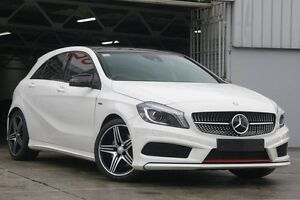 2014 Mercedes-Benz A250 176 Sport White 7 Speed Automatic Hatchback Mosman Mosman Area Preview