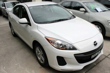 2013 Mazda 3 BL MY13 Neo White 5 Speed Automatic Sedan East Maitland Maitland Area Preview