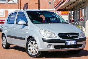 2008 Hyundai Getz TB MY07 S Silver 5 Speed Manual Hatchback Fremantle Fremantle Area Preview