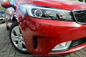 2016 Kia Cerato YD MY17 S Red 6 Speed Sports Automatic Hatchback Christies Beach Morphett Vale Area Preview