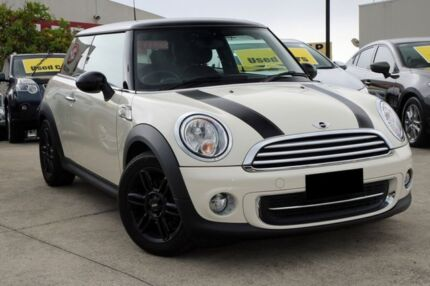 2013 Mini Cooper R56 MY13 Baker Street Beige 6 Speed Automatic Hatchback Buderim Maroochydore Area Preview