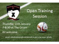 Edinburgh Caledonia Ladies FC are recruiting!