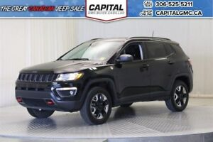 2017 Jeep Compass Trailhawk 4WD*Leather*Nav*Sunroof*