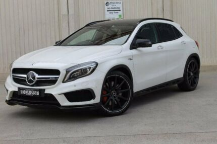 2016 Mercedes-Benz GLA 45 AMG 4MATIC X156 806MY AMG SPEEDSHIFT DCT 4MATIC White 7 Speed