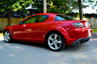 2004 Mazda RX-8 GT, mags 18'', toit ouvrant, cuir, 150km