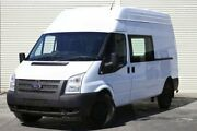 2012 Ford Transit VM 350 High Roof LWB White 6 Speed Manual Van Seaford Frankston Area Preview