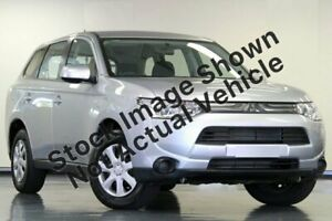 2013 Mitsubishi Outlander ZJ MY13 ES 4WD Silver 6 Speed Constant Variable Wagon Gympie Gympie Area Preview