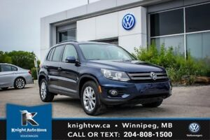 2013 Volkswagen Tiguan Comfortline AWD 0.99% Financing Available