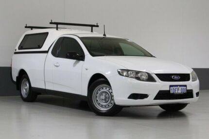 2009 Ford Falcon FG White 5 Speed Auto Seq Sportshift Utility Bentley Canning Area Preview
