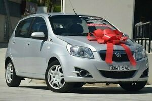 2009 Holden Barina TK MY09 Silver 4 Speed Automatic Hatchback Thornleigh Hornsby Area Preview